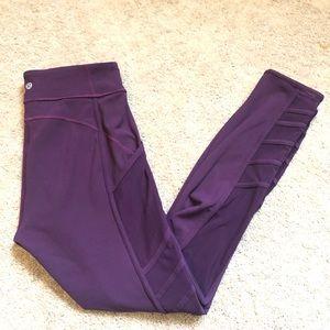 Like new lulu mesh tights